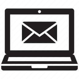 appliance, device, laptop, mail, message, notebook, technology icon