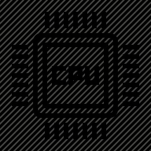 chip, cpu, electronics, hardware, processor icon