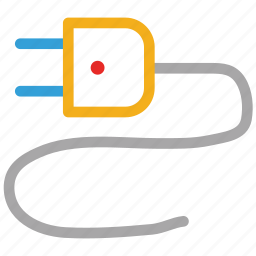 electric plug, electrical plug, plug, power plug icon