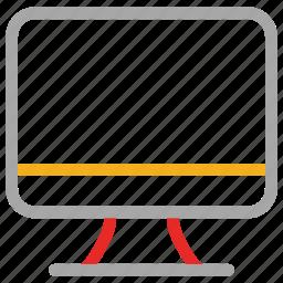 electric, flat screen, monitor, screen icon