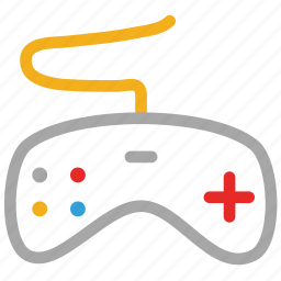 game, game controller, game pad, wireless game pad icon
