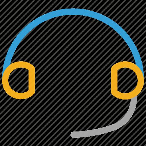 earphone, electric, headphone, headset icon