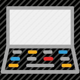 laptop, machine, pc, personal computer icon