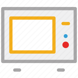 cooking range, microwave, microwave oven, oven icon