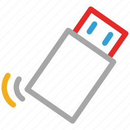 flash, memory stick, usb, usb drive icon