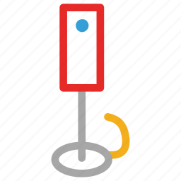 electric, electricity, floor lamp, lamp icon