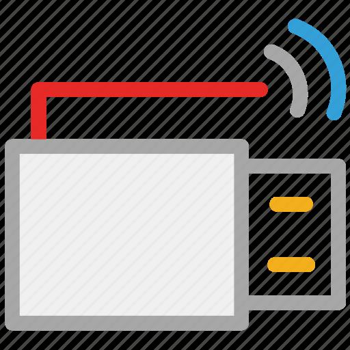 drive, wifi sync, wifi usb, wifi usb key icon