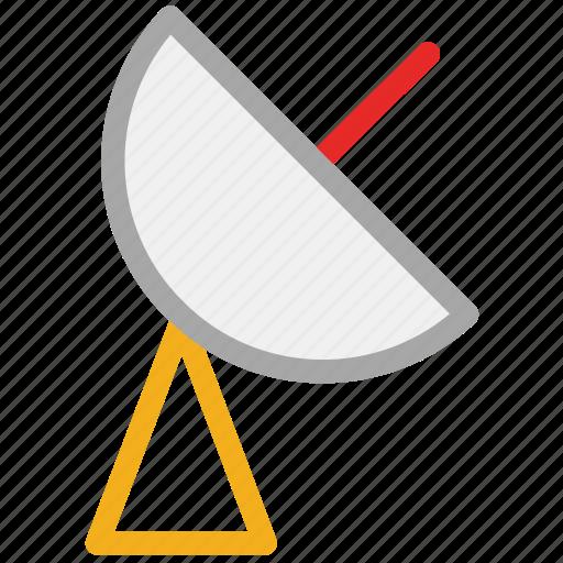 antenna, dish antenna, satellite, space icon