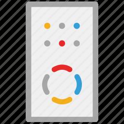 controller, remote, remote controller, tv remote icon