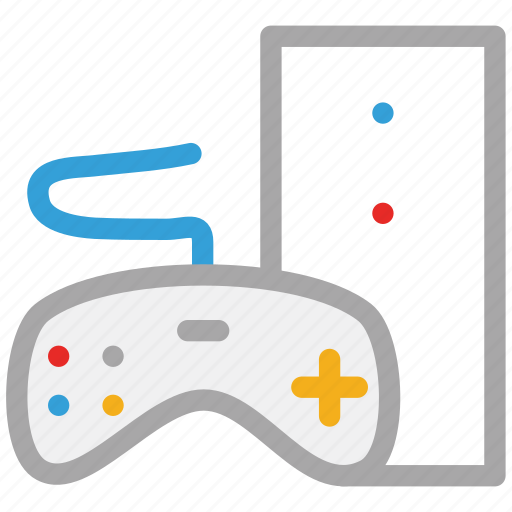 controller, game, game controller, game pad icon