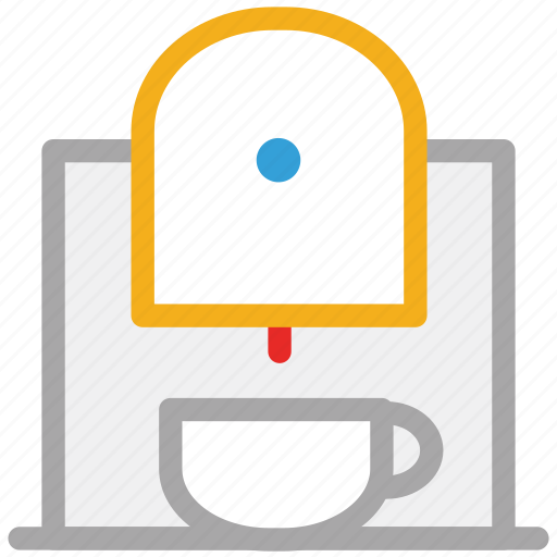 coffee, coffee machine, coffee maker, machine icon
