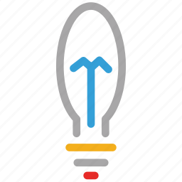 bulb, electric bulb, electricity, light bulb icon