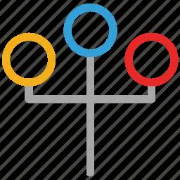 lamp, street, street lamp, streetlight icon