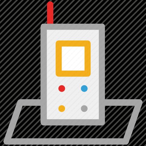 cordless, telephone, walkie talkie, wireless icon