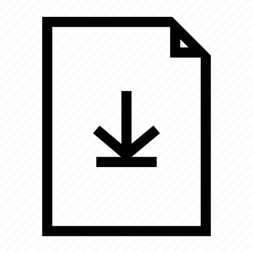 download, download file, file icon