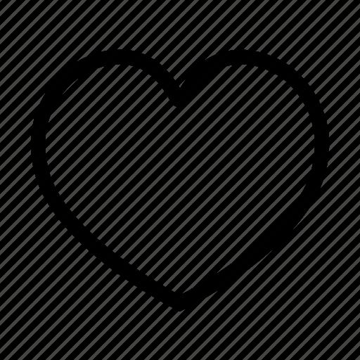 favorite, heart, like, love, romance, valentines icon