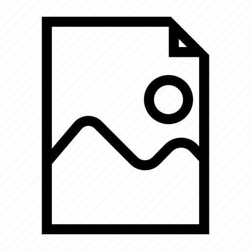 file, image, image file, photo, photo file, picture, picture file icon