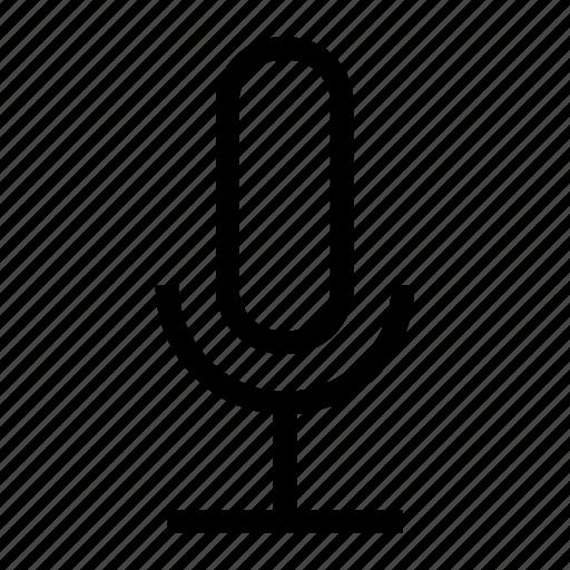 audio, mic, microphone, record, record audio icon