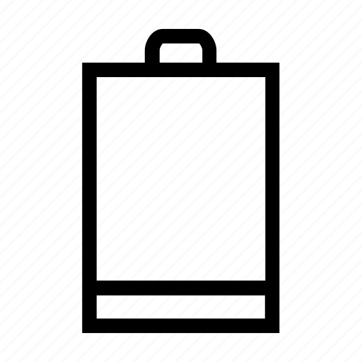 battery, empty, level, low, low battery icon