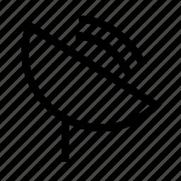 gps, radar, signal icon