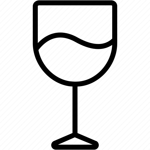 alcohol, beverage, drink, glass, juice, party, wine icon