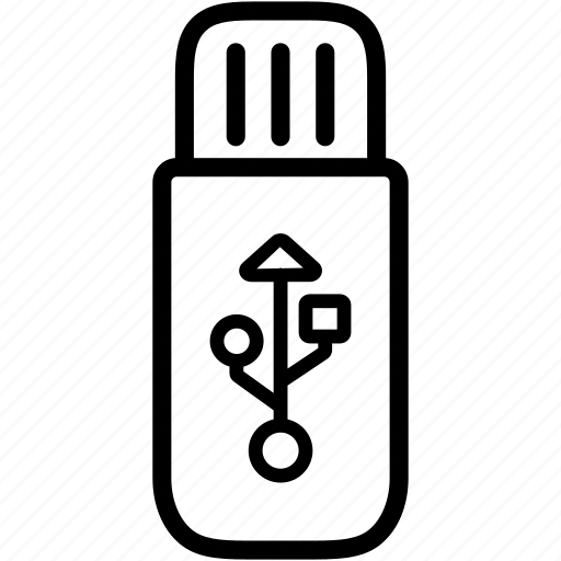 data, device, flash, memory, storage, usb icon