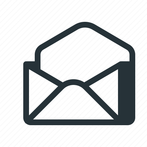 email, empty, envelope, letter, mail, newsletter, subscription icon