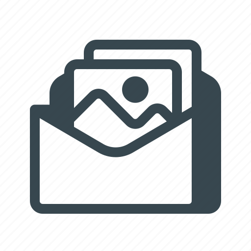 email, envelope, letter, mail, multimedia, newsletter, subscription icon