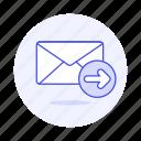 email, envelope, forward, letter, mail, resend