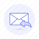 email, envelope, letter, mail, reply