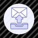 sync, letter, upload, sent, envelope, email, mail