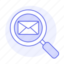 scan, email, letter, mail, envelope, view, emaile, search