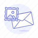 content, email, image, mail, stamp