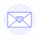 close, email, envelope, heart, letter, love, mail, message, stamp