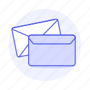 yellow, letter, envelope, email, mail, close