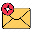 email, envelop, letter, mail, message, new