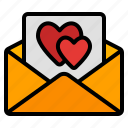 love, letter, heart, romance, valentine, email, message