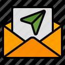 send, mail, email, message, letter, envelope, communication