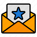favourite, like, favorite, star, badge, email, mail