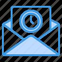 pending, email, mail, message, send, wait, inbox
