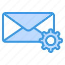 setting, configuration, options, preferences, email, mail, message
