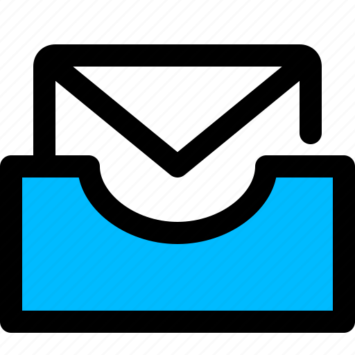 email, inbox, mailbox, tray icon