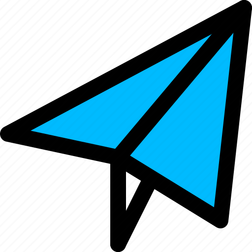 email, paper plane, send icon