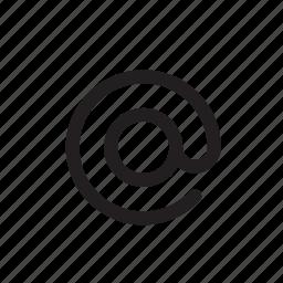 address, email, internet, link, send, share, website icon