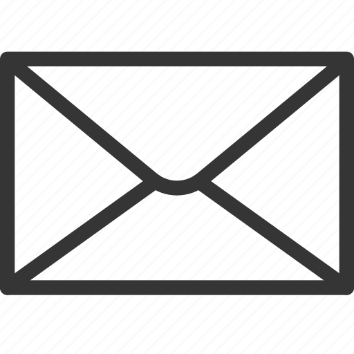 email, envelope, letter, mail address, message, post, receive icon