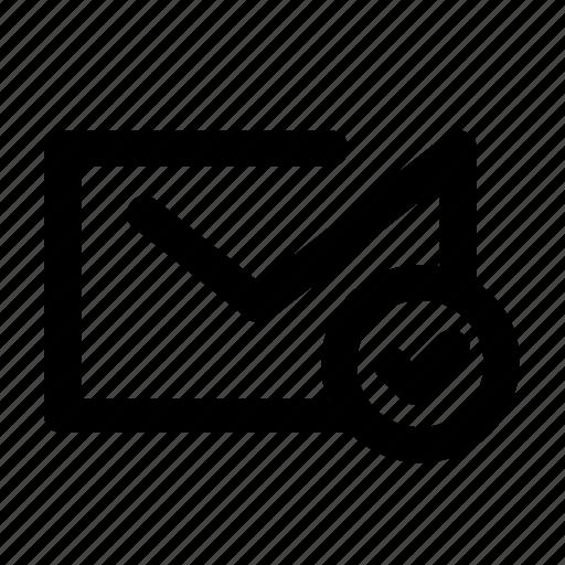 delivered, email, envelope, letter, mail, message, sent icon