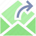 email, envelope, forward, letter, mail, message