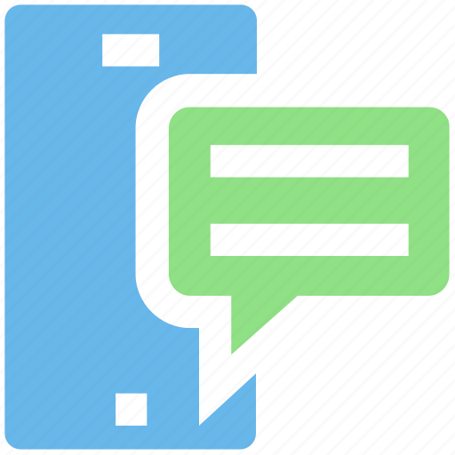 Chat, feedback, message, mobile, text icon - Download on Iconfinder