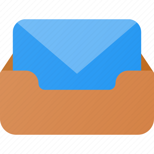 archive, email, inbox, mail icon