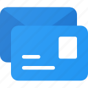 mail, post, stack, stamp icon
